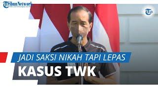Sigap Jadi Saksi Nikah Influencer namun Lepas Tangan Kasus TWK KPK, Sikap Jokowi Tuai Kritik