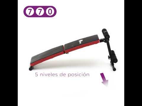 Banco de abdominales plegable - 770 Store