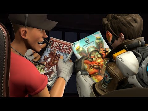 The Comics of TF2 and OW