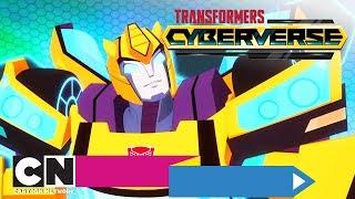 Трансформеры: Кибервселенная | Мой герой Мегатрон | Cartoon Network