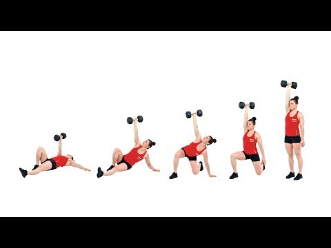 The Dumbbell Turkish Get-Up