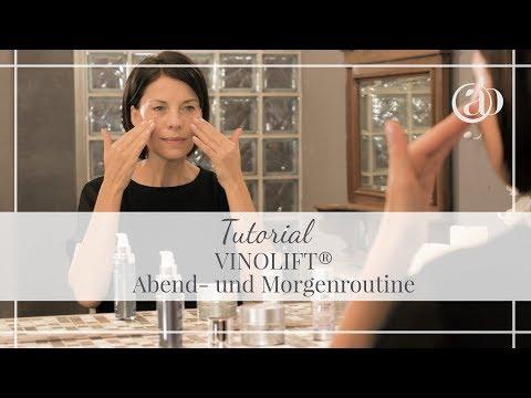 Gesichtspflege-Tutorial: VINOLIFT von M. Asam richtig anwenden