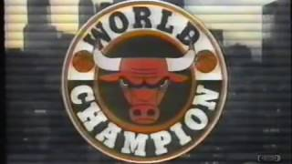 The 1991 1992 Chicago Bulls Sponsored By WGN TV Sports Chicago