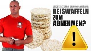Reiswaffeln - gesund zum Abnehmen? Wahrheit zu Kalorien, Nährwerte & mehr