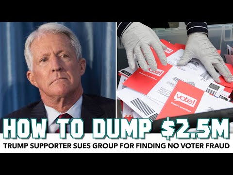 Rich Trump Supporter Sues Pro-Trump Group Because He's Dumb