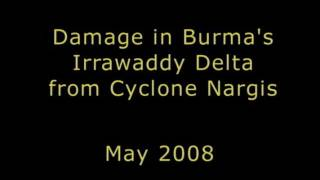GAO: Damage in Burma's Irrawaddy Delta from Cyclone Nargis, May 2008