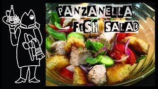 Italian Fish Salad With Grilled Yellowfin Tuna