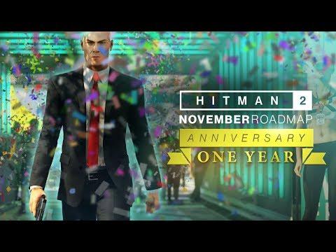 Feuille de route pour novembre 2019 de Hitman 2