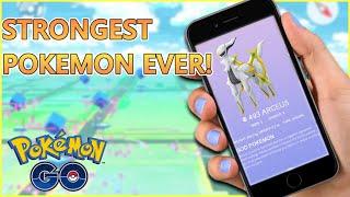 Most POWERFUL Pokemon in Pokemon GO