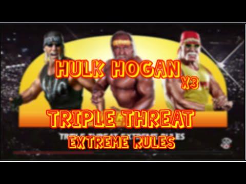 WWE 2K15 | Hulk Hogan vs Hulk Hogan vs Hulk Hogan