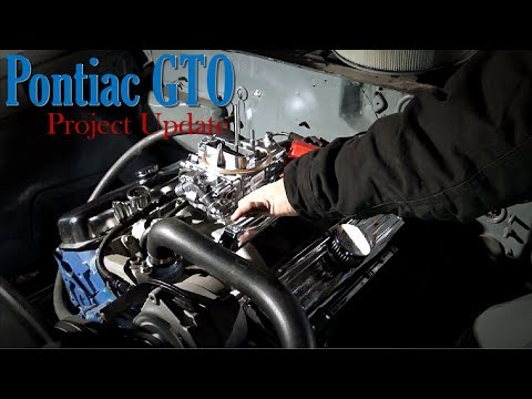 Pontiac GTO Project Update - Engine Tuned And Mufflers Installed