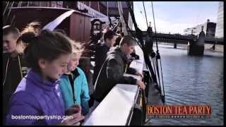 video - Field Trips to the Boston Tea Party Ships & Museum