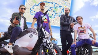 GPS Drawing en motos : c'est chaud pour nos permis (feat Vilebrequin)