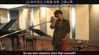 No Min Woo   Can I love you  MV English subs + Romanization + Hangul HD