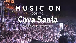 Music On goes to Cova Santa w Marco Carola  The Martinez Brothers 092016