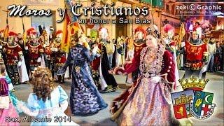 preview picture of video 'Moros y  Cristianos 2014 Sax por San Blas'