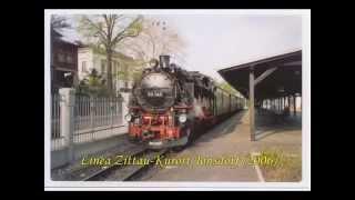 preview picture of video 'Germania - Ferrovie a vapore di Cranzahl e Zittau (mm. 750)'
