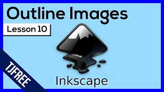 Inkscape Lesson 10 - Trace Images with Bezier Tool