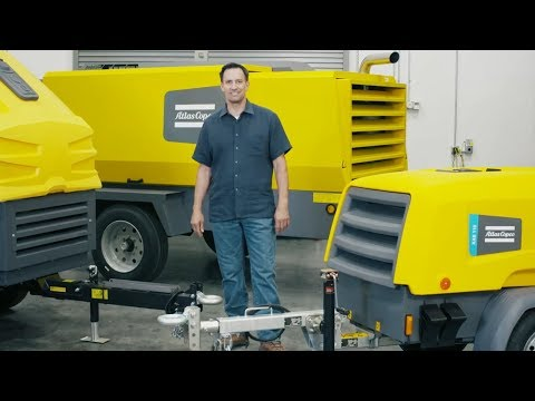 Use Atlas Copcos mobile air compressors and avoid the corrosion creep - zdjęcie