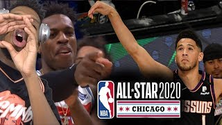 BOOKER IS A GOD! 2020 NBA Three-Point Contest - Full Highlights