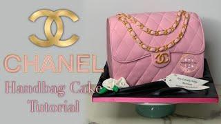 Chanel Handbag Cake Tutorial | Mollys Kitchen Queens