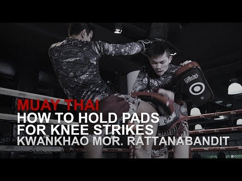 Muay Thai: How To Hold Pads For Knee Strikes | Evolve University