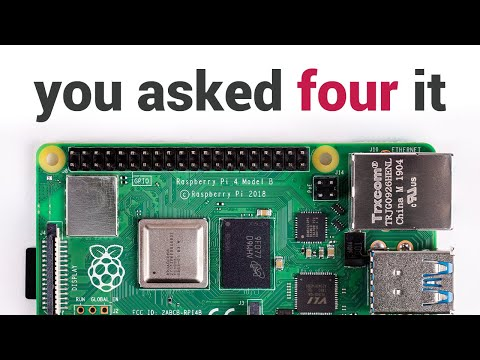 Raspberry Pi Set complet de démarrage 4 4G Model B (ARMv8)
