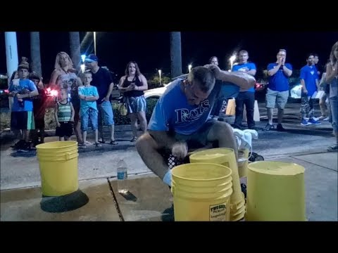Bucket Drummers One Handed Roll is Insane