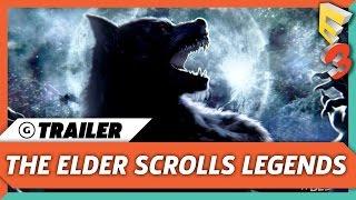 The Elder Scrolls: Legends: Heroes of Skyrim Trailer | E3 2017 Bethesda Press Conference