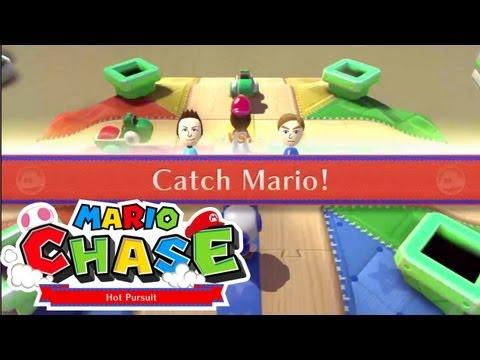 NintendoLand - Mario Chase: 1v1 Gameplay With Abdallah #1 [Best of Three]
