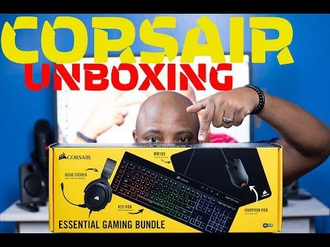 First Look Corsair RGB Gaming Bundle (Alienware Aurora R7, i7 8700, GTX 1070)