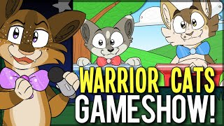 Moonkitti vs Tennelle Flowers. Warrior Cats Trivia GAME SHOW! | Mouse Brained!