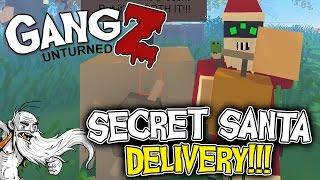 """GangZ Unturned Gameplay - """"SECRET SANTA DELIVERY!!!"""" - Unturned PvP Multiplayer"""