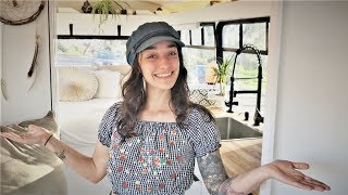 Full Tour: Luxurious Off-Grid Shuttle Bus Build Converted in 2 Months! [SOLD]