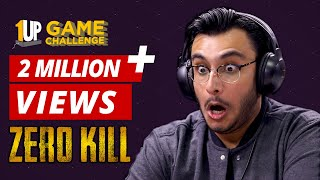 Zero Kill Challenge with RawKnee | Tech2 Game Challenge | PUBG Mobile