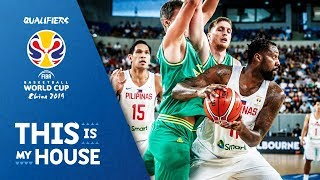 Australia v Philippines - Highlights - FIBA Basketball World Cup 2019 - Asian Qualifiers