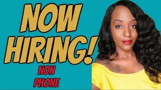 $25 Hourly Non Phone Job!