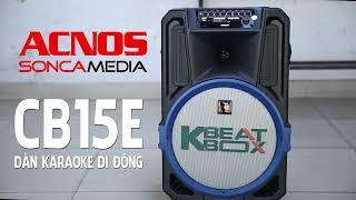 Dàn karaoke di động KBeatbox CB15E