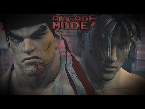RYU vs. JIN KAZAMA | ARCADE MODE! [EPISODE 4]