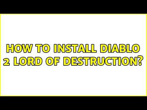 Ubuntu: How to install Diablo 2 Lord of Destruction? (2 Solutions!!)