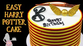 Easy Harry Potter Cake