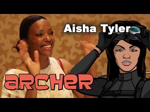 Archer Season 7 - Aisha Tyler Interview - Comic-Con 2015