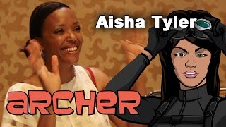 Archer Season 7 - Aisha Tyler Interview - Comic-Con 2015