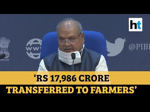लॉकडाऊन दरम्यान सरकारने शेतक farmers्यांना 17,986 कोटी रुपये हस्तांतरित केले: कृषिमंत्री