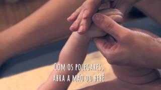 Shantala para bebê