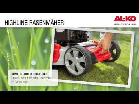 AL-KO   Highline Benzin Rasenmäher   Nur das Beste für Ihren Rasen