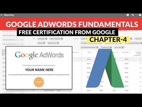 Google Adwords Fundamentals   Free Certification from GOOGLE ...