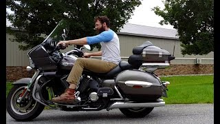 Harley Stock Exhaust vs  Magnaflow 4 5 Hitman Slip ons with