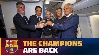 FC Barcelona: trip to Barcelona after Copa del Rey final