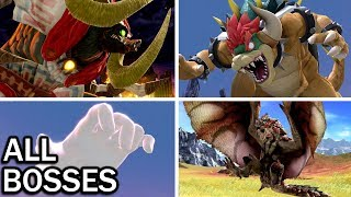 Super Smash Bros Ultimate: All Bosses and Ending